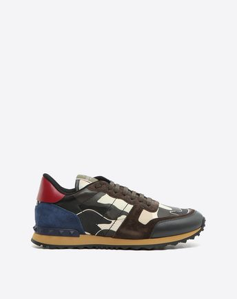 VALENTINO GARAVANI UOMO LOW-TOP SNEAKERS U Camouflage Bounce trainer f