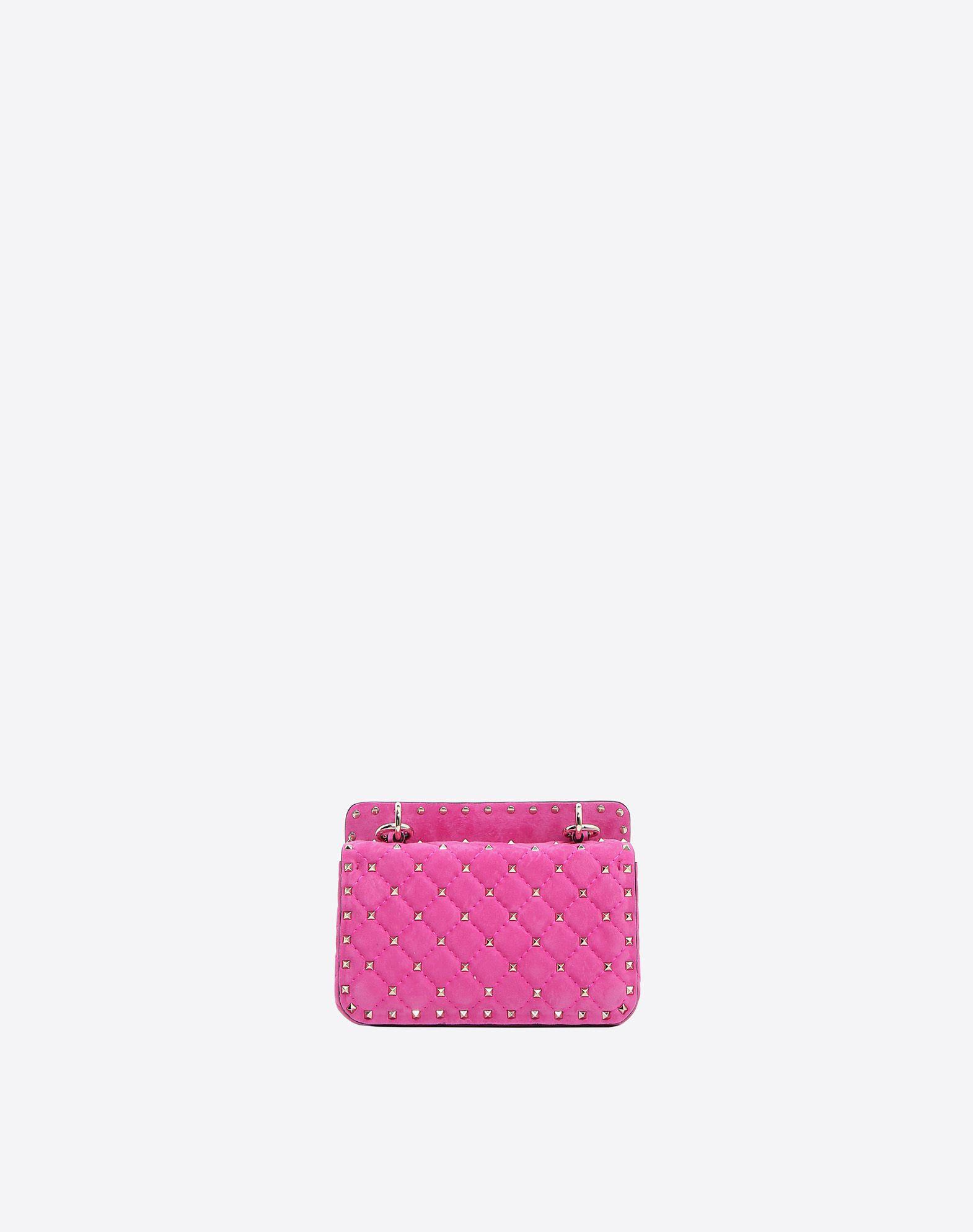 VALENTINO GARAVANI Small Rockstud Spike Chain Bag Shoulder bag D d