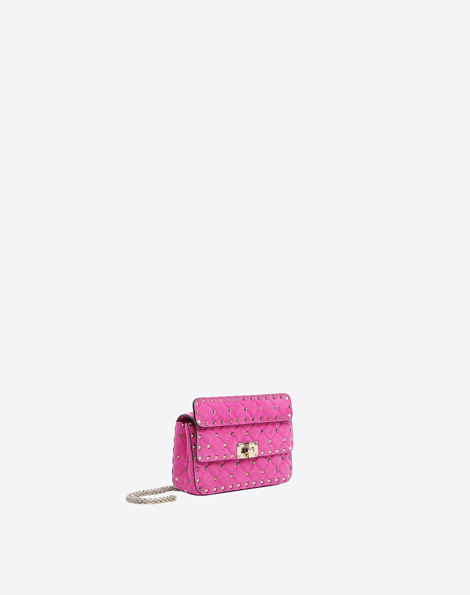 VALENTINO GARAVANI Small Rockstud Spike Chain Bag Shoulder bag D r
