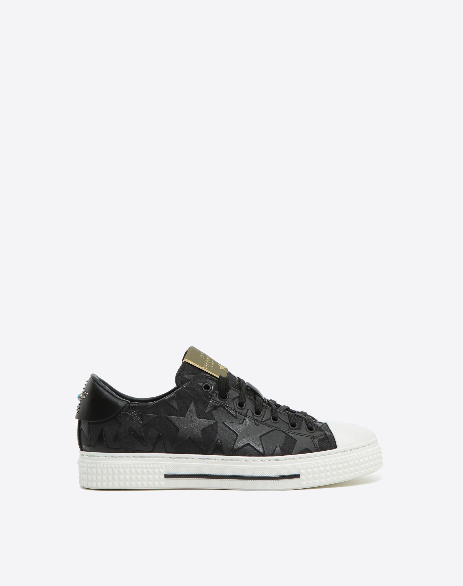 Y-3 Black Valentino Garavani Sound Sneakers