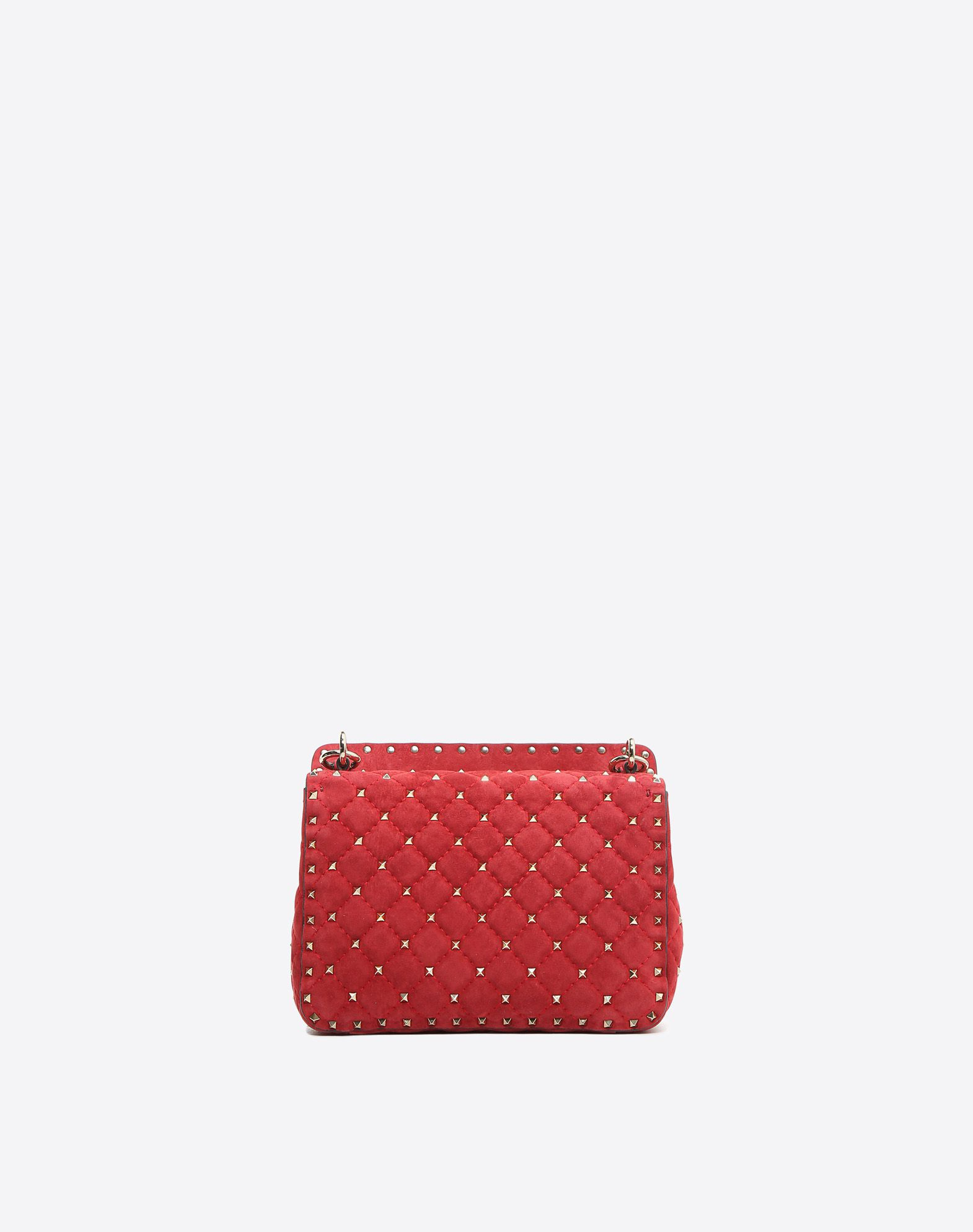 Valentino Garavani The Rockstud Spike Quilted Leather Wallet - Red Valentino 9jKsAvweBE