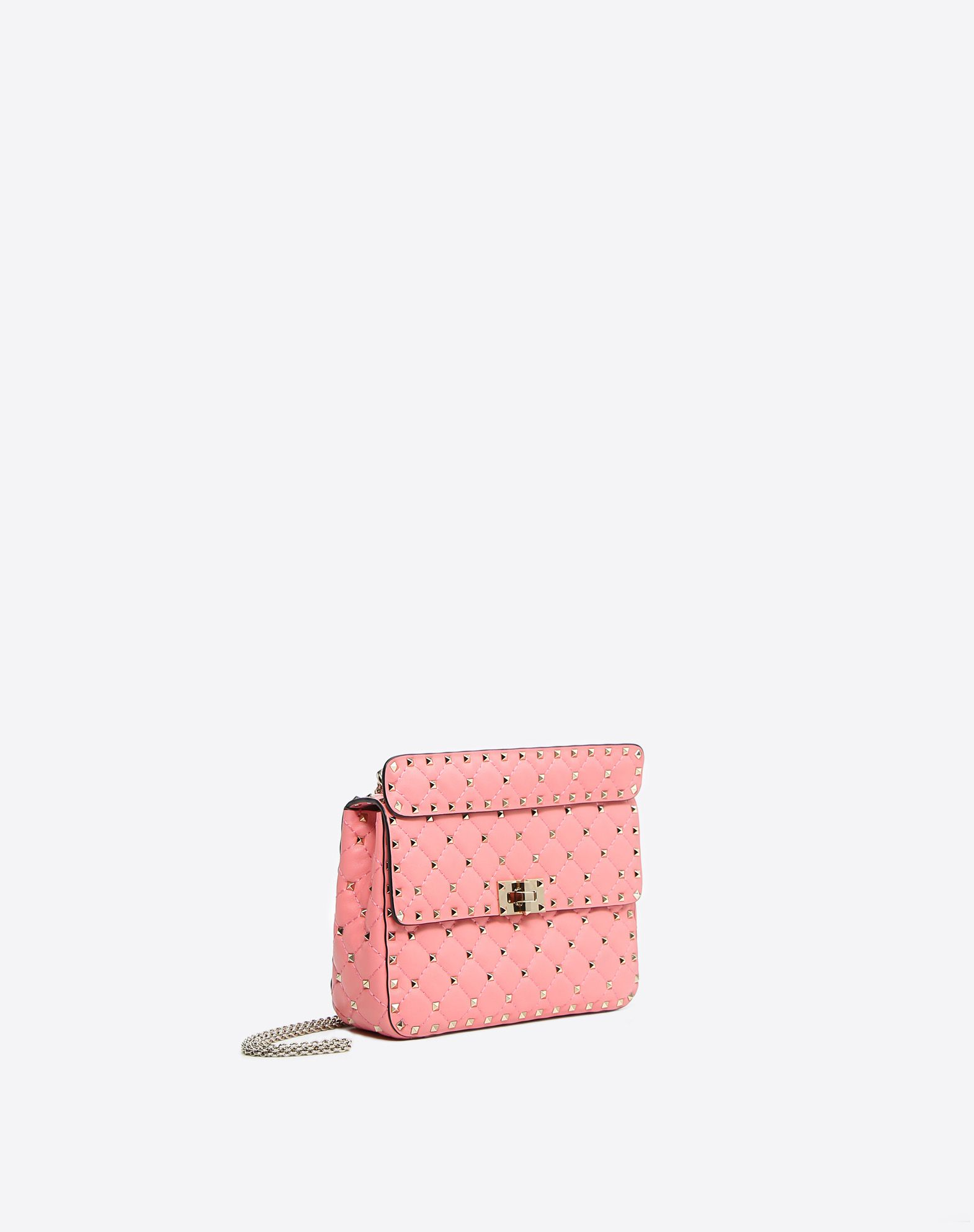 VALENTINO GARAVANI Medium Rockstud Spike Chain Bag Shoulder bag D r