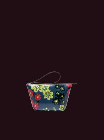 Marni Colored Flowers print pouch Man
