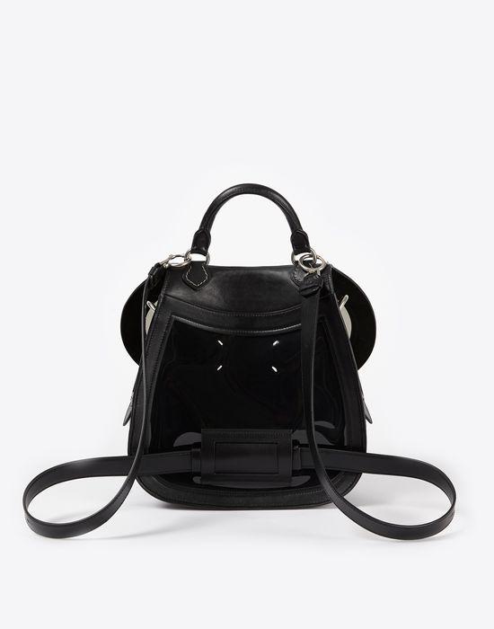 MAISON MARGIELA Bag-slide' in transparent PVC and calfskin Shoulder bag D r