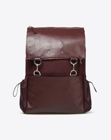 MAISON MARGIELA 11 Backpack U Nylon and calfskin backpack f