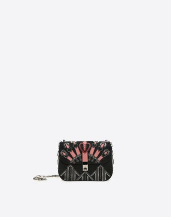 VALENTINO Metal Loveblade Cross Body Bag 45346915UD