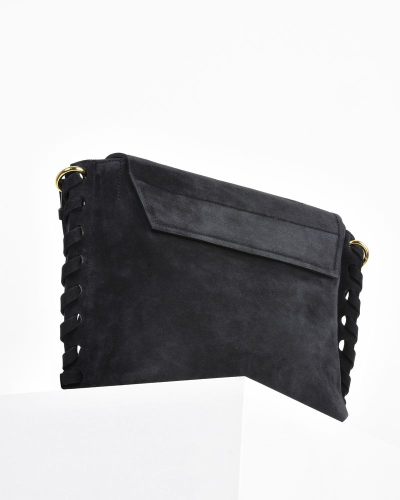 Asli suede calfskin shoulder bag ISABEL MARANT