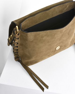 ISABEL MARANT BAG D Asli Suede calfskin shoulder bag e
