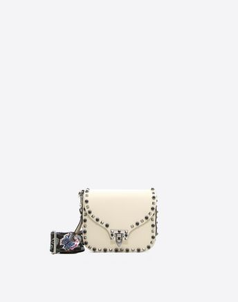VALENTINO Guitar Rockstud Rolling Cross Body Bag  45347199VV