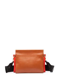 Marni BEAT bandoleer bag in nappa leather Woman