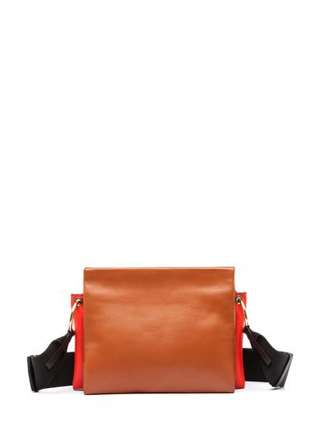 Marni BEAT crossbody bag in nappa Woman
