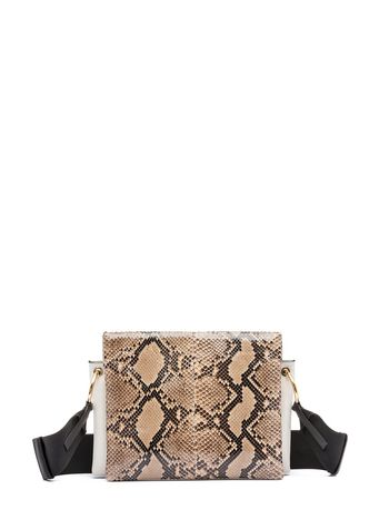 Marni BEAT bag in shiny python Woman