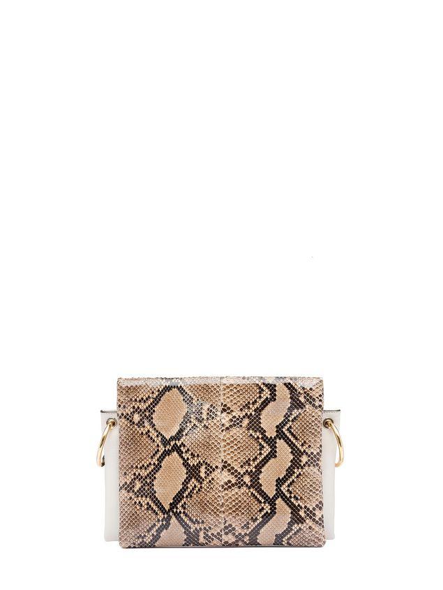 Marni BEAT bag in shiny python Woman