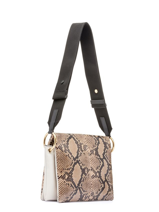 Marni BEAT bag in shiny python Woman - 2
