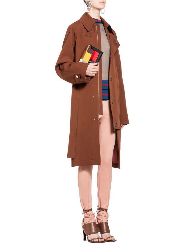 En Marni Trunk Femme Boutique Pochette Elaphe Brillant FqBntwctY4