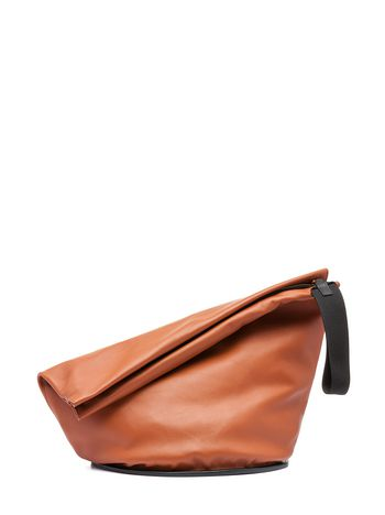 Marni TAMBOURINE clutch in nappa leather Woman