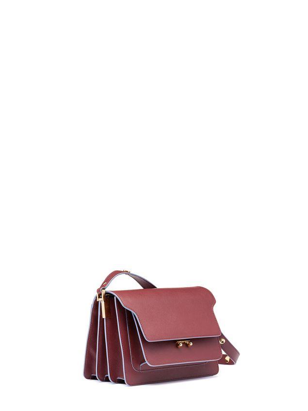 Marni TRUNK shoulder bag in Saffiano Woman - 2