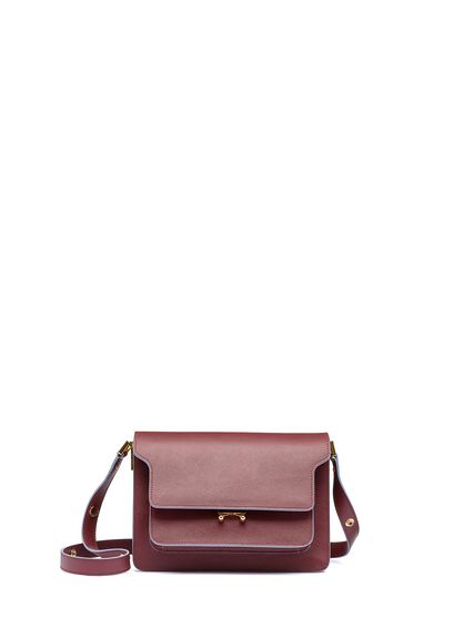 Trunk Shoulder Bag In Saffiano Leather From The Marni Fall
