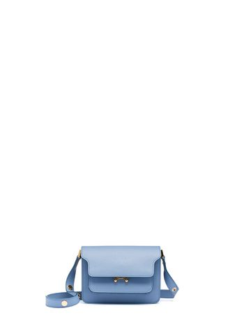 Marni MINI TRUNK bag in Saffiano leather Woman