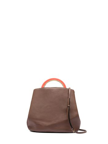 Marni PANNIER handbag in calfskin Woman