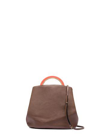 Marni PANNIER handbag in calfskin Woman