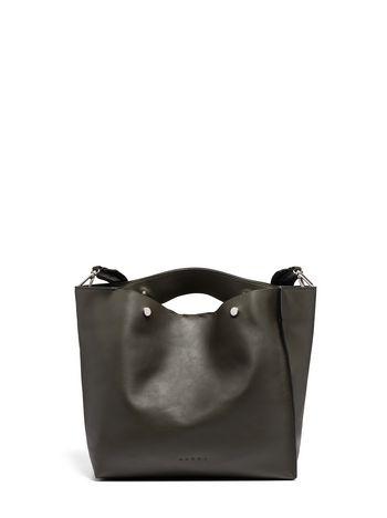 Marni Shopping bag VOILE in calfskin Woman