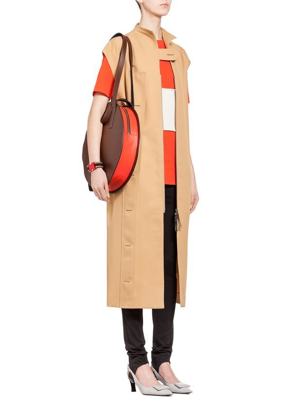 Marni TAMBOURINE shopping bag  Woman - 5