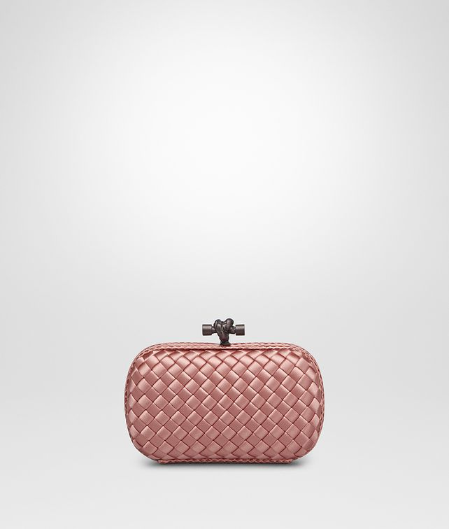 BOTTEGA VENETA KNOT IN BOUDOIR INTRECCIO IMPERO, AYERS DETAILS Clutch Woman fp