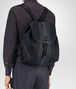 BOTTEGA VENETA RUCKSACK AUS INTRECCIATO CLUB-LAMMLEDER IN DARK NAVY DENIM ARDOISE Messenger Tasche Herren ap