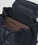 BOTTEGA VENETA RUCKSACK AUS INTRECCIATO CLUB-LAMMLEDER IN DARK NAVY DENIM ARDOISE Messenger Tasche Herren dp