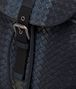BOTTEGA VENETA RUCKSACK AUS INTRECCIATO CLUB-LAMMLEDER IN DARK NAVY DENIM ARDOISE Messenger Tasche Herren ep