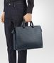 BOTTEGA VENETA BRIEFCASE IN DENIM INTRECCIATO VN Business bag Man ap