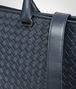 BOTTEGA VENETA BRIEFCASE IN DENIM INTRECCIATO VN Business bag Man ep