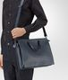 BOTTEGA VENETA BRIEFCASE IN DENIM INTRECCIATO VN Business bag Man lp