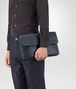 BOTTEGA VENETA DOCUMENT CASE IN DENIM INTRECCIATO VN Backpack Man ap