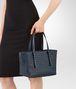BOTTEGA VENETA MINI TOTE BAG IN INTRECCIATO NAPPA DENIM Tote Bag Woman ap