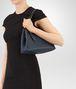 BOTTEGA VENETA MINI TOTE BAG IN INTRECCIATO NAPPA DENIM Tote Bag Woman lp