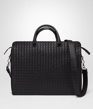 BORSA BUSINESS IN INTRECCIATO VN NERO