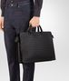 BOTTEGA VENETA BRIEFCASE IN NERO INTRECCIATO VN Business bag Man ap