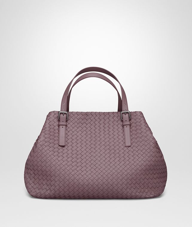 BOTTEGA VENETA LARGE TOTE BAG IN GLICINE INTRECCIATO NAPPA Top Handle Bag D fp