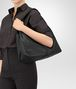 BOTTEGA VENETA MEDIUM SHOULDER BAG IN NERO CERVO Shoulder or hobo bag Woman ap