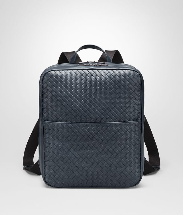 BOTTEGA VENETA BACKPACK IN DENIM INTRECCIATO VN Messenger Bag U fp