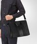BOTTEGA VENETA BRIEFCASE IN NERO INTRECCIO IMPERATORE CALF Business bag Man lp
