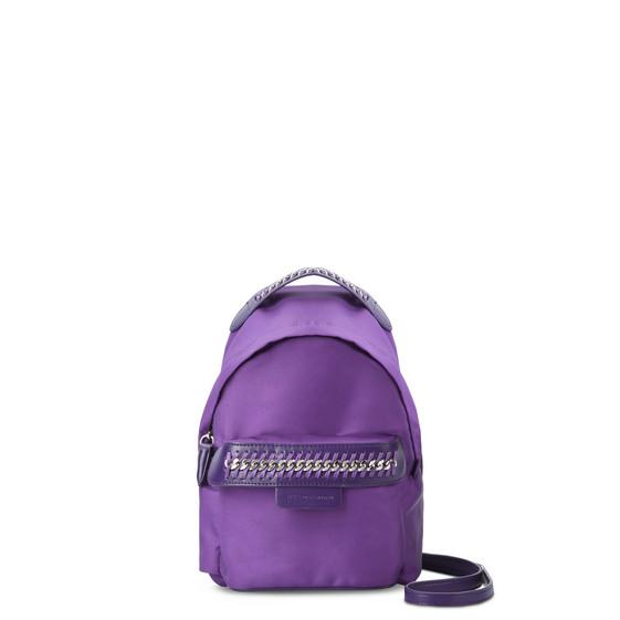 Mini-sac à dos Falabella GO violet