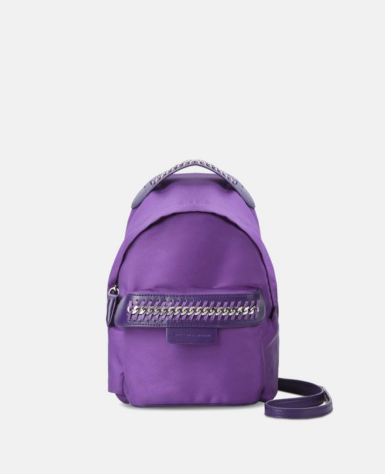 Purple Falabella GO Mini Backpack