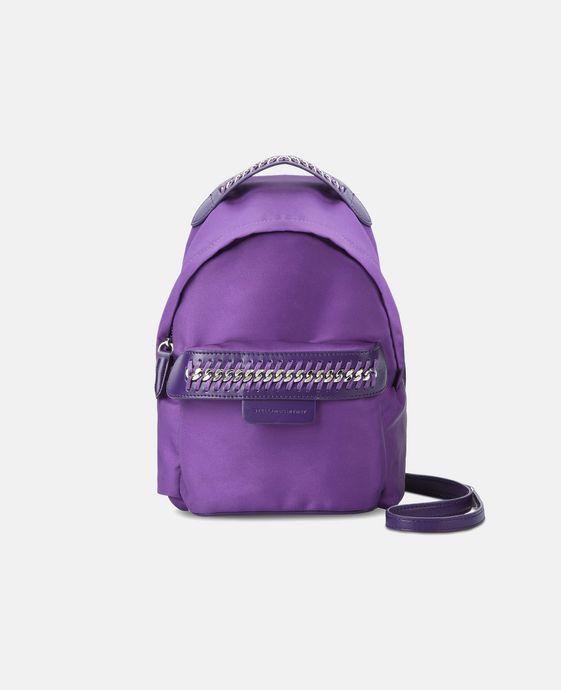 STELLA McCARTNEY Purple Falabella GO Mini Backpack Mini Bags D c
