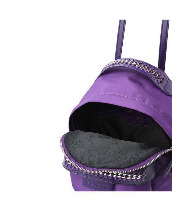 STELLA McCARTNEY Purple Falabella GO Mini Backpack Mini Bags D g