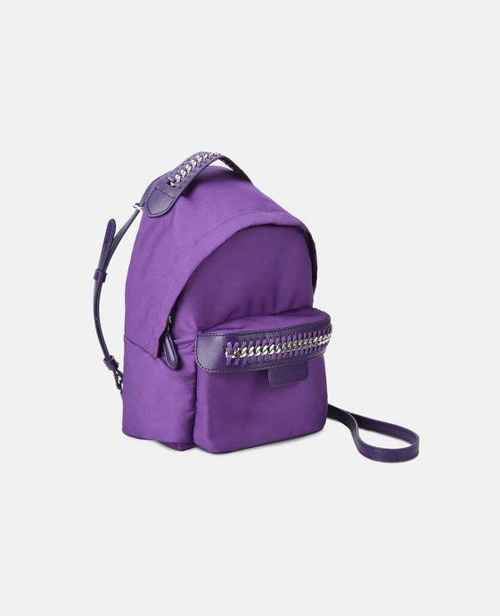 STELLA McCARTNEY Purple Falabella GO Mini Backpack Mini Bags D h