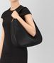 BOTTEGA VENETA LARGE LOOP BAG IN NERO INTRECCIATO NAPPA Shoulder or hobo bag D ap