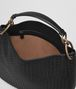 BOTTEGA VENETA MEDIUM LOOP BAG IN NERO INTRECCIATO NAPPA LEATHER Shoulder or hobo bag D dp